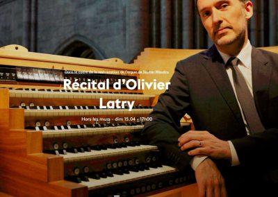 Récital inaugural de l'orgue restauré : le 15 avril 2018