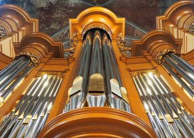 Inauguration de l'orgue restauré : le programme