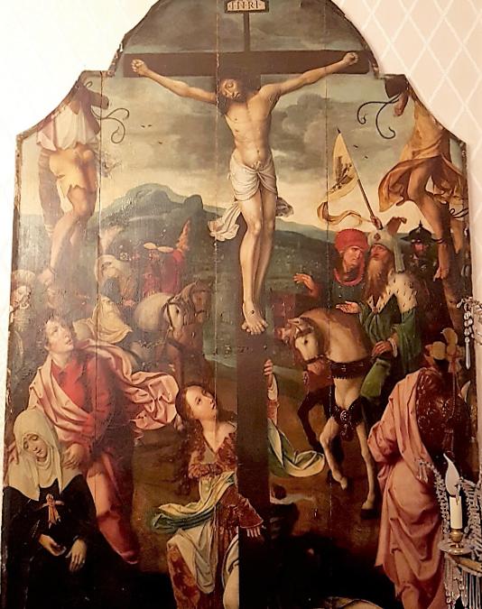 Un tableau volé à la collégiale retrouvé après 37 ans