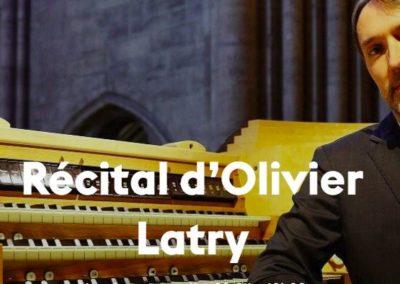 Récital d'Oliver Latry le 28 avril 2019